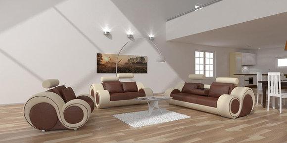 jvmoebel designer ledersofa 3 sitzer berlin. Black Bedroom Furniture Sets. Home Design Ideas