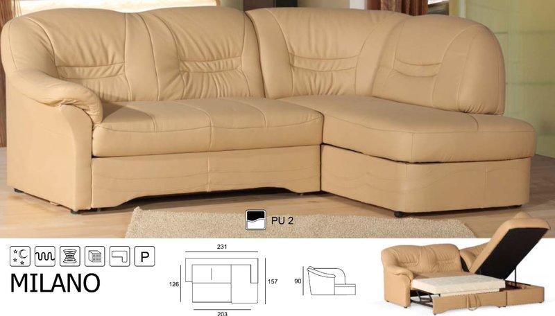 sofas und ledersofas milano designersofa ecksofa bei jv m bel. Black Bedroom Furniture Sets. Home Design Ideas