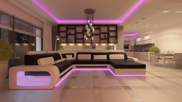 jvmoebel ledersofa wohnlandschaft xxl ledergarnitur ecksofa h2209. Black Bedroom Furniture Sets. Home Design Ideas