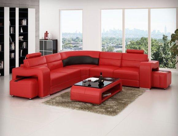 ledersofa ecksofa couch designer sofa. Black Bedroom Furniture Sets. Home Design Ideas