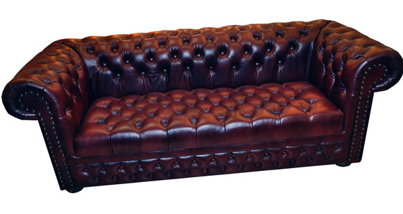 chesterfield sofa 3 sitzer ledersofa vintage couch. Black Bedroom Furniture Sets. Home Design Ideas