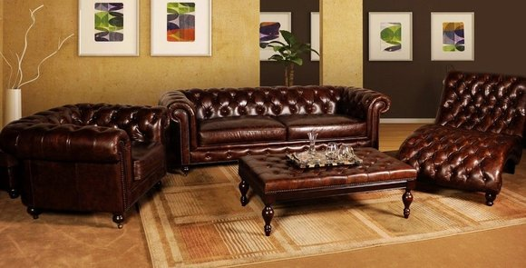 sofas und ledersofa manchester 3 2 1 designersofa. Black Bedroom Furniture Sets. Home Design Ideas