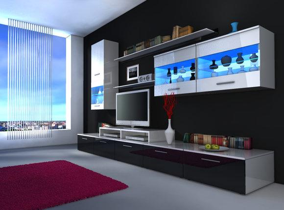 moderne wohnw nde und wie designer wohnwand beta von jv m bel. Black Bedroom Furniture Sets. Home Design Ideas