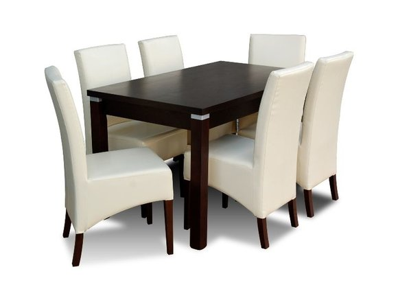 essgruppe mit tisch und st hlen wie esszimmerset z02 von jv m bel. Black Bedroom Furniture Sets. Home Design Ideas