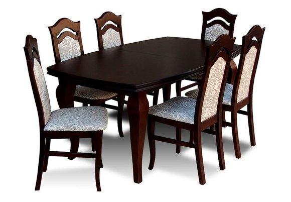 essgruppe mit tisch und st hlen wie esszimmerset z14 von jv m bel. Black Bedroom Furniture Sets. Home Design Ideas