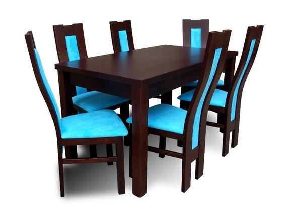 essgruppe mit tisch und st hlen wie esszimmerset z31 von jv m bel. Black Bedroom Furniture Sets. Home Design Ideas