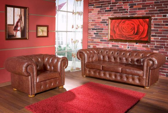 sofas und ledersofa napoli classic designersofa sofagarnitur bei jv m bel. Black Bedroom Furniture Sets. Home Design Ideas