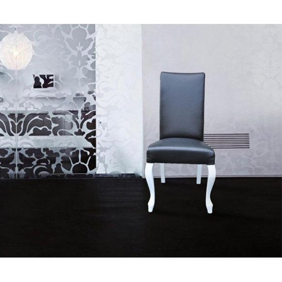 lehnstuhl stuhl leder st hle lederstuhl polster sessel designer neu ludwik 108. Black Bedroom Furniture Sets. Home Design Ideas