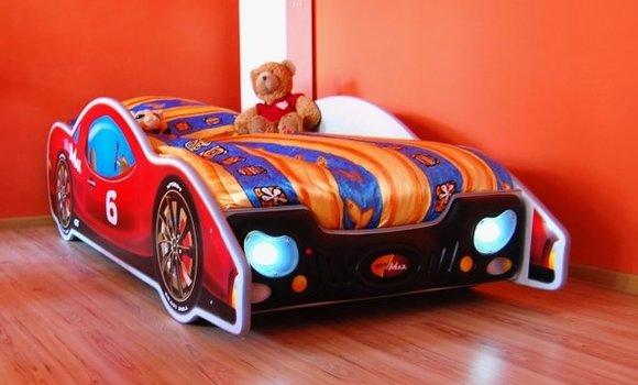 Bett mit Matratze Kinderbett Jugendbett Auto Bett Betten ...