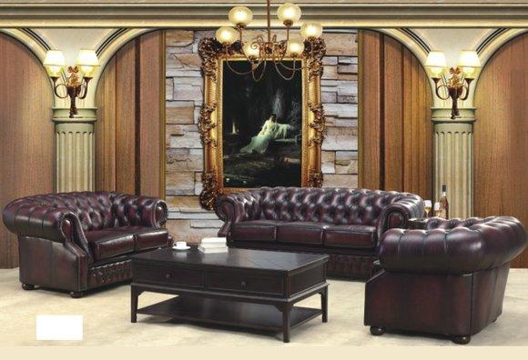 sofas und ledersofa oxford 3 2 1 designersofa sofagarnitur. Black Bedroom Furniture Sets. Home Design Ideas
