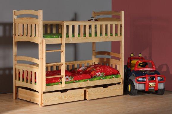 doppelstockbett etagenbett bett kinderbett betten stockbett wox 5 ch etagenbett www jvmoebel. Black Bedroom Furniture Sets. Home Design Ideas