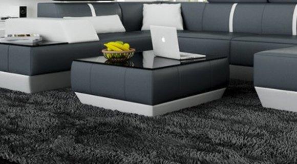 Couchtisch und Clubtisch Tisch Le Mans Design Ledertisch kaufen
