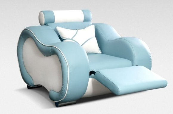 designer ledersofa sofa couch mit fu st tze barfunktion. Black Bedroom Furniture Sets. Home Design Ideas