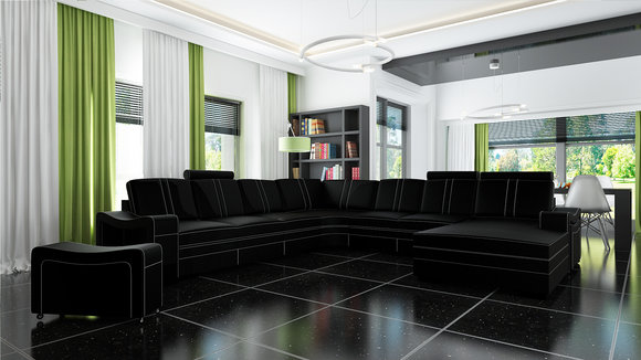 jvmoebel big ledersofa ecksofa franco u. Black Bedroom Furniture Sets. Home Design Ideas