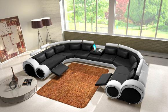 jvmoebel ledersofa couch sofa ecksofa modell berlin iv u. Black Bedroom Furniture Sets. Home Design Ideas