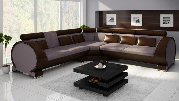 ecksofa vigo lt01 eckcouch couch sofa eckgarnitur ledersofa leder textil stoff www jvmoebel. Black Bedroom Furniture Sets. Home Design Ideas