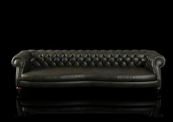 jvmoebel ledersofa chesterfieldsofa charly 3m schwarz. Black Bedroom Furniture Sets. Home Design Ideas