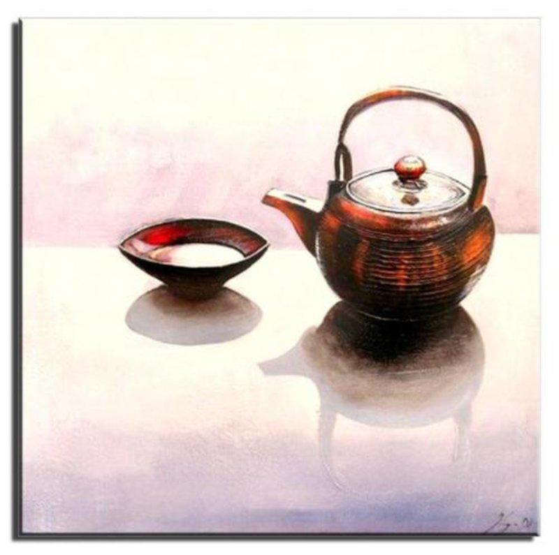 """Gemälde Ölbild Bild Ölbilder Rahmen Bilder """"FengShui""""G01641"""