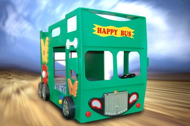 Doppelstockbett 'Happy Bus'