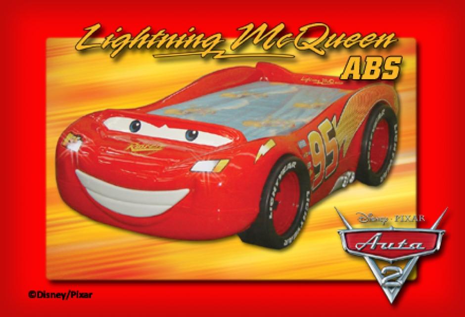 Motivbett 'Lightning McQueen ABS'