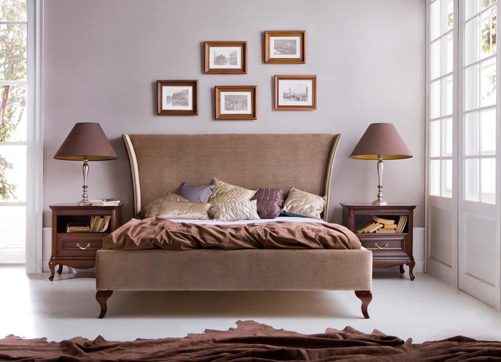 Klassische Möbel im italienischen Stil, in Massivholz Milano9