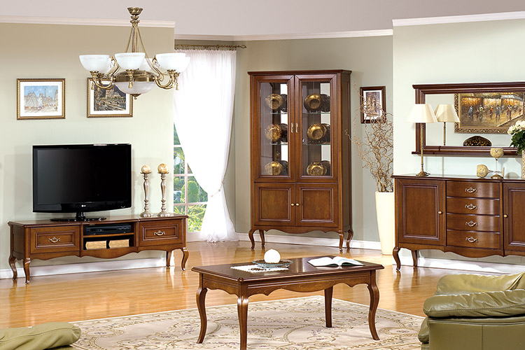 klassische m bel im italienischen stil in massivholz prato1. Black Bedroom Furniture Sets. Home Design Ideas