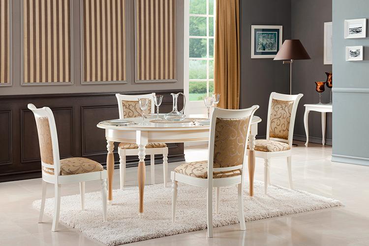 Klassische Möbel im italienischen Stil, in Massivholz Verona3