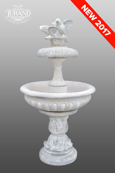 Deko Brunnen. Affordable Nostalgie Antik Wasch Becken Wand Brunnen ...