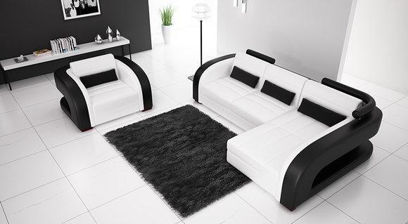 sofas und ledersofas bergamo i designersofa ecksofa bei jv m bel. Black Bedroom Furniture Sets. Home Design Ideas