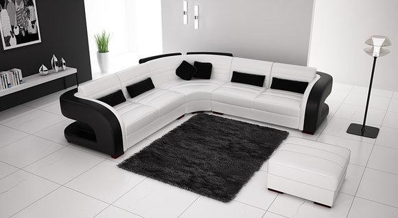 Designer Ledersofas sofas und ledersofas bergamo iii designersofa ecksofa bei jv möbel
