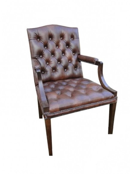 Antiker thron k nig chesterfield sessel imitation 1500 - Stuhl chesterfield ...