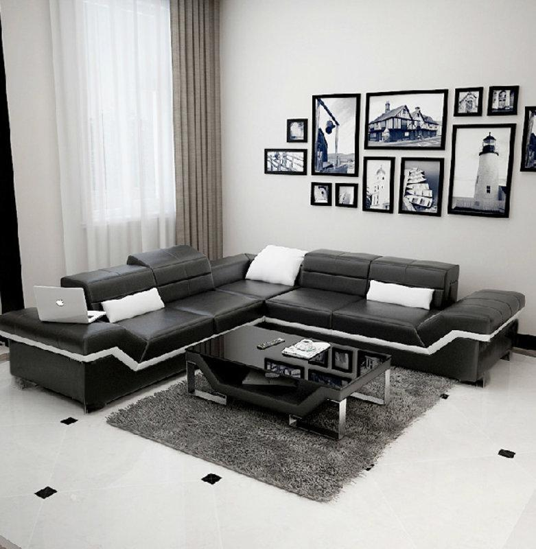 Ledersofa xxl wohnlandschaft couch design sofa ecksofa new for Ledersofa wohnlandschaft
