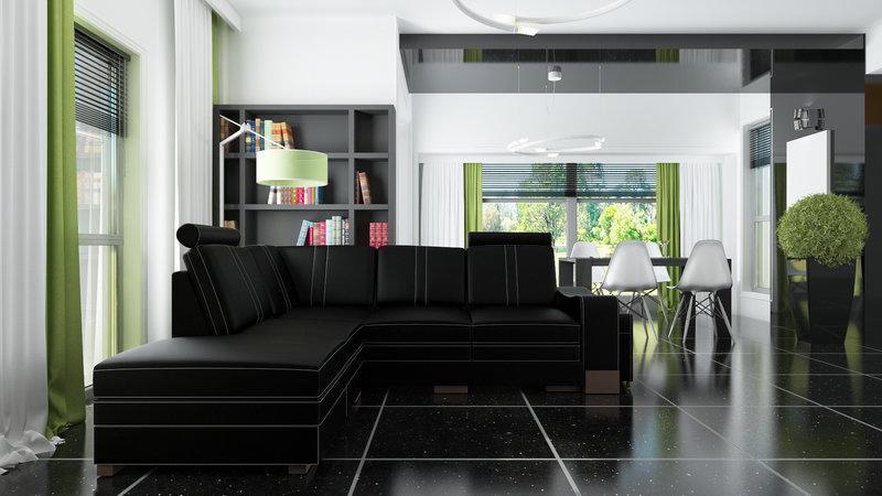 ledersofa edgar ecksofa mit bettfunktion und bettkasten. Black Bedroom Furniture Sets. Home Design Ideas