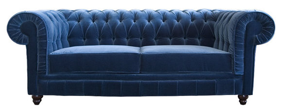 designer sofa chesterfield british style vintage 3 sitzer. Black Bedroom Furniture Sets. Home Design Ideas