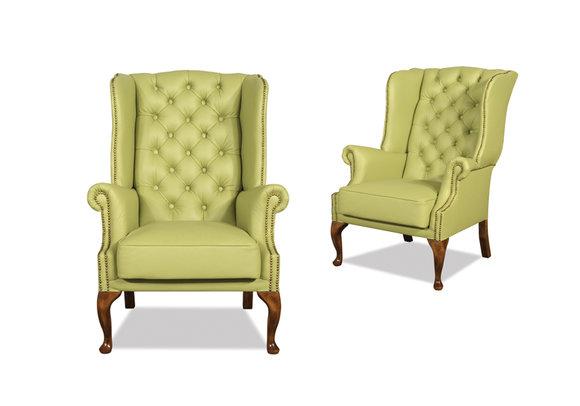 chesterfield sessel ohrensessel ledersofas queen 25 designersofa jv m bel. Black Bedroom Furniture Sets. Home Design Ideas