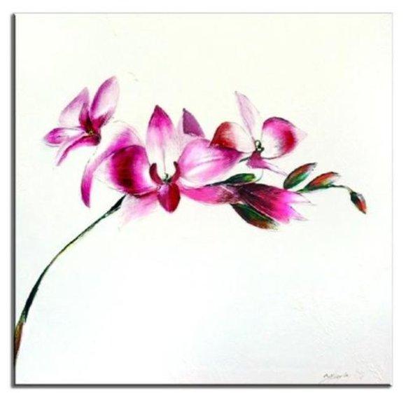 Gemälde Ölbild Bild Ölbilder Rahmen Bilder Handarbeit Japan Feng Shui G01639