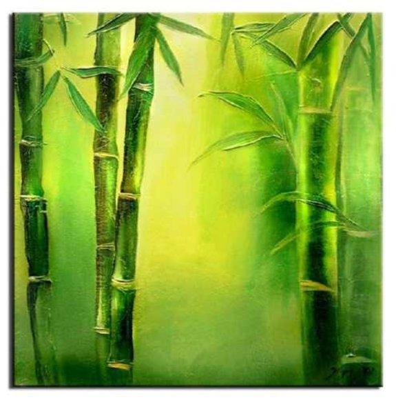 Gemälde Ölbild Bild Ölbilder Rahmen Bilder FengShui G01642