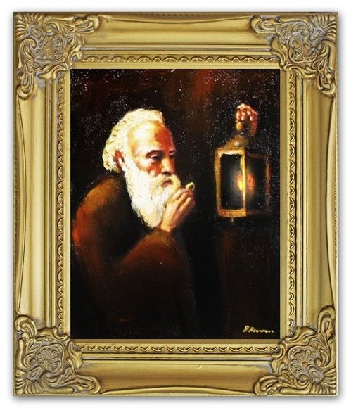Ölbild Ölbilder Gemälde Bilder Bild Handgemalt Öl mit Rahmen Barock G05062