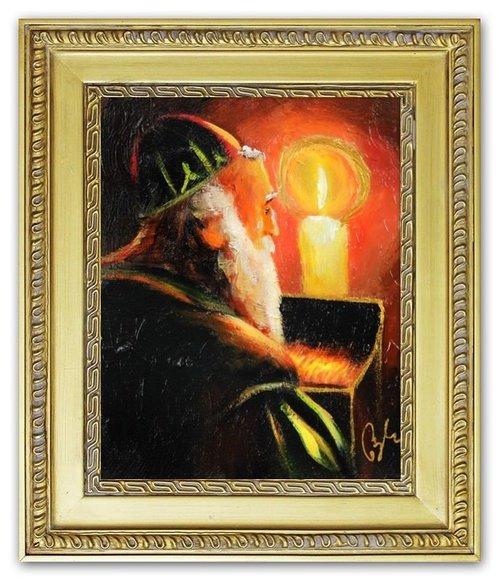 Ölbild Ölbilder Gemälde Bilder Bild Handgemalt Öl mit Rahmen Barock G06502