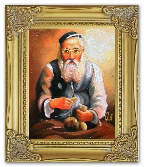 Ölbild Ölbilder Gemälde Bilder Bild Handgemalt Öl mit Rahmen Barock G95361