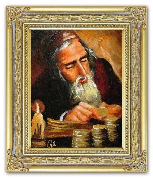 Ölbild Ölbilder Gemälde Bilder Bild Handgemalt Öl mit Rahmen G15575