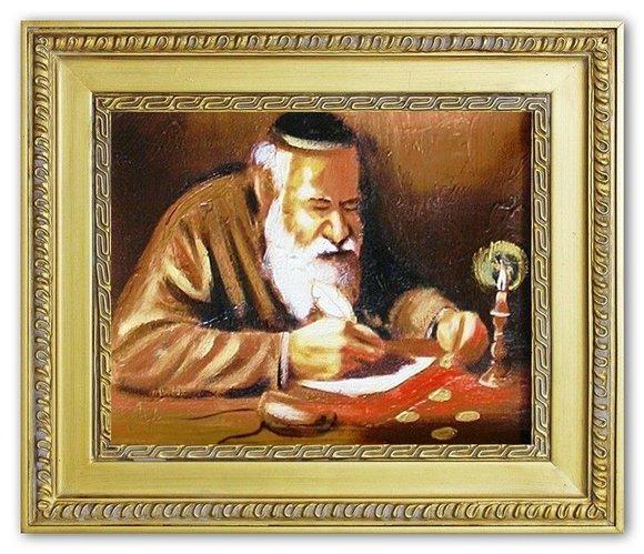 Ölbild Ölbilder Gemälde Bilder Bild Handgemalt Öl mit Rahmen Barock G04286