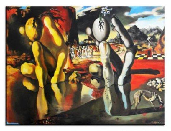 Salvador Dali Ölgemälde Bild Abstrakt Gemälde Leinwand Ölbild Bilder G17193