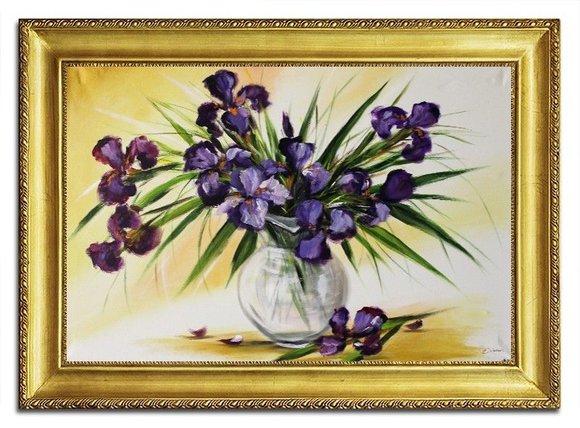 Ölbild Ölbilder Gemälde Bilder Bild Handgemalt Öl mit Rahmen Barock Kunst G96469