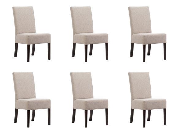 6x Stuhl Set Polster Sitz Stã¼hle Garnitur Wartezimmer Kanzlei
