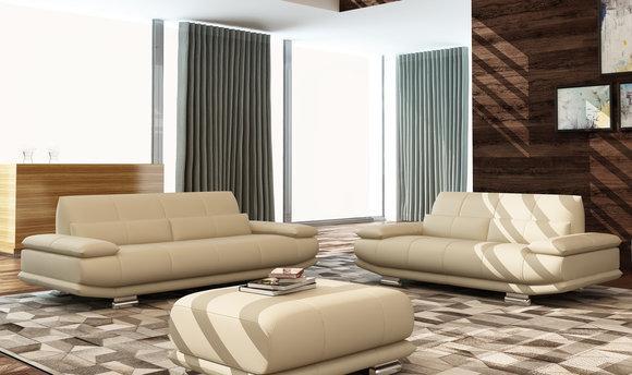 Leder Sofa Couch Polster Komplett Garnitur 3 2 1 Sofas Couchen Sitz Garnituren