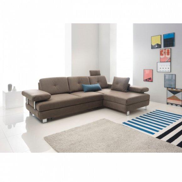 Schlafsofa Design Polster Wohnzimmer Eckgarnitur Ecksofa Sofa Couch