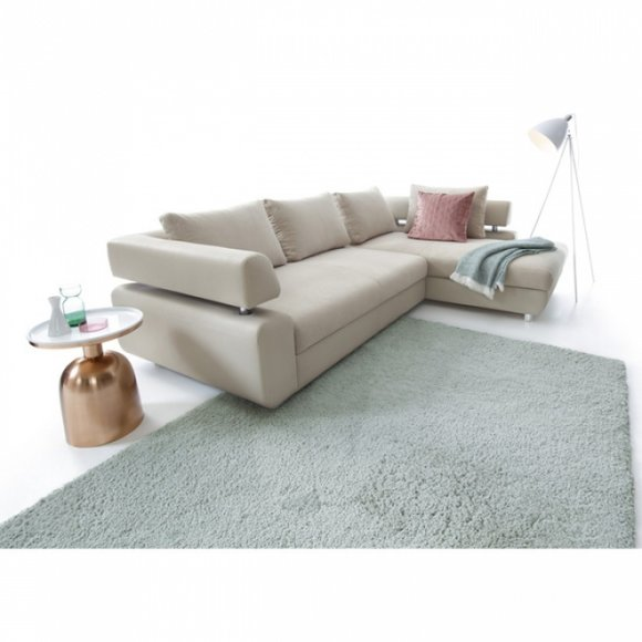 Schlafcouch Sofa Bettfunktion Multifunktions Eck Garnitur Couch