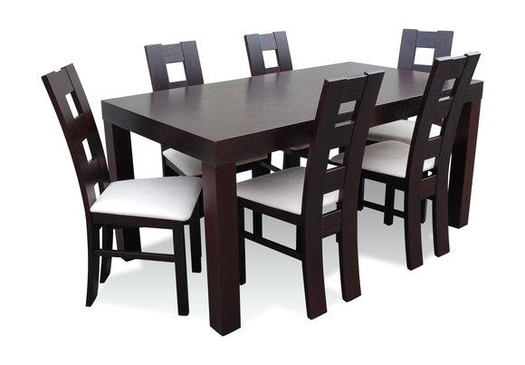 Designer Esstisch Gruppe Stuhl Tische Holz Tisch Buro Esszimmer 6