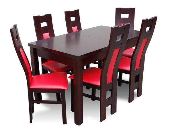 Esstisch Tisch 6 Stuhle Gruppe Esszimmer Wohnzimmer Garnitur Holz